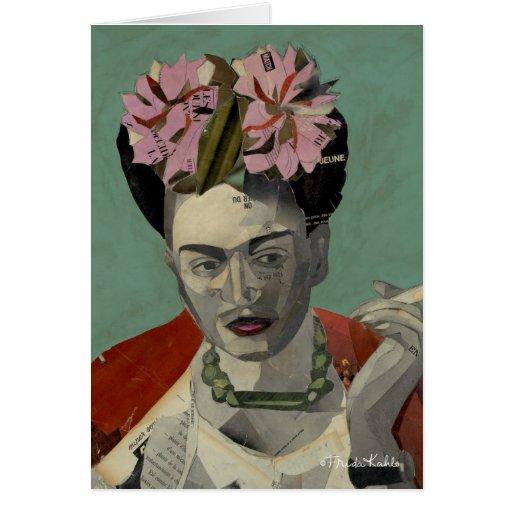 Frida Kahlo por García Villegas Cartao