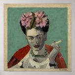 Frida Kahlo por García Villegas Poster