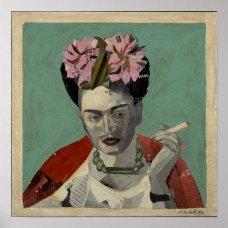 Frida Kahlo por García Villegas Posteres