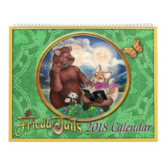 Frieda ata o calendário 2018