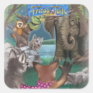 Frieda vai à etiqueta do jardim zoológico