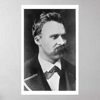 Friedrich Wilhelm Nietzsche (1844-1900) 1873 (b/w Pôsteres