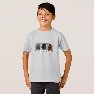 Friends: Spinone Italiano, Tervueren, Bloodhound Camiseta