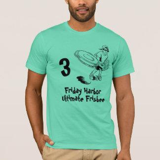 frisbee, porto de sexta-feira, Frisbee final, 3 Camiseta