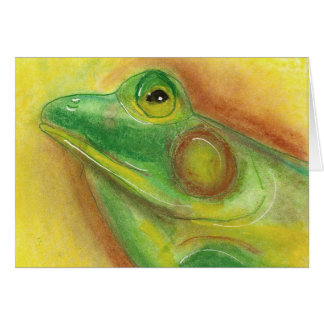 Frog Notecard Cards