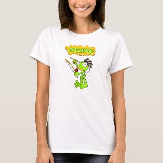 Froginho o camiseta/camisolas das mulheres do sapo camiseta