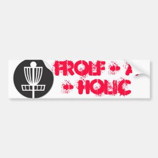 Frolf - A - Holic Adesivo Para Carro