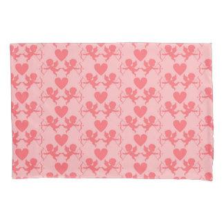 Fronha de almofada cor-de-rosa