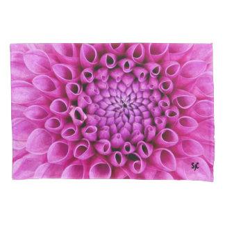 Fronha de almofada cor-de-rosa da dália