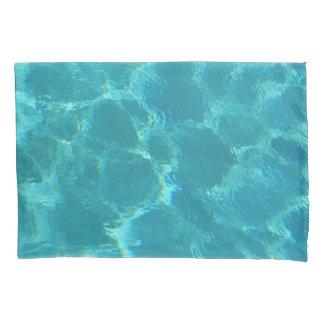 Fronha de almofada da água azul de turquesa