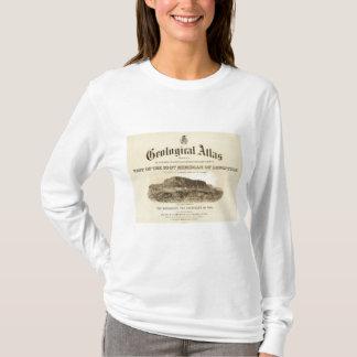 Frontispício Geological do atlas Camiseta