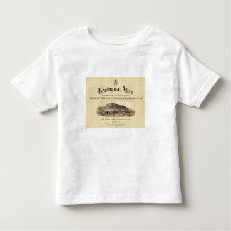 Frontispício Geological do atlas Camiseta Infantil