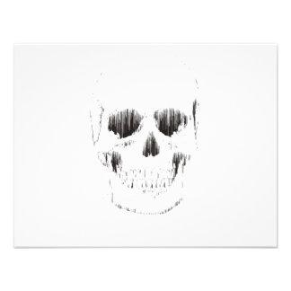 Frozen Skull Personalized Announcement