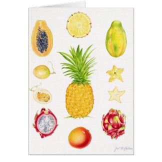 Fruta 1 cartão