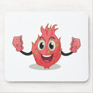 Fruta do dragão mouse pad