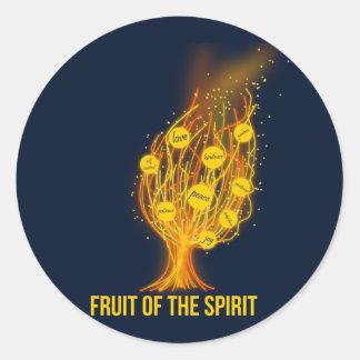 Fruta do espírito - 5:22 de Galatians - 23 Adesivo