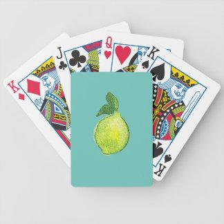 Fruta do hipster baralhos de poker