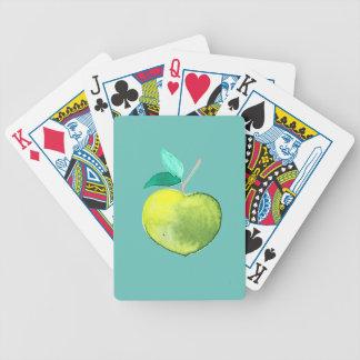 Fruta do hipster baralhos de pôquer
