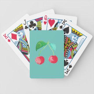 Fruta do hipster cartas de baralhos