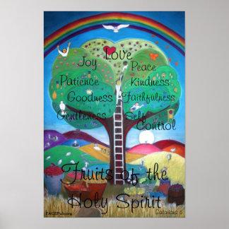Frutas do poster do Espírito Santo