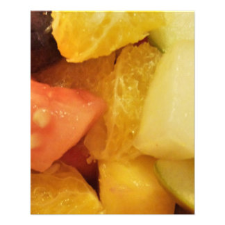 Frutas Modelo De Panfleto