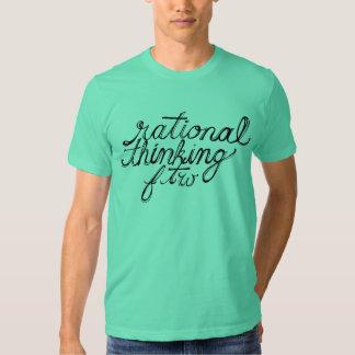 FTW de pensamento racional T-shirts