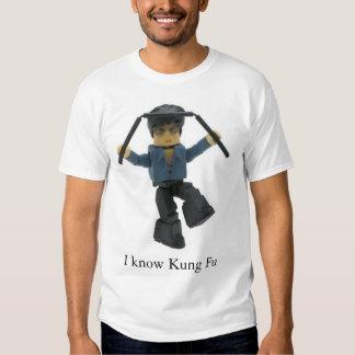 Fu de Kung Camisetas