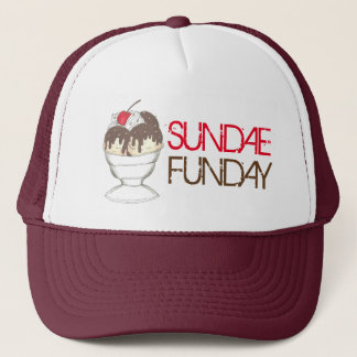 Fudge quente Foodie do sorvete do SUNDAE (DOMINGO) Boné
