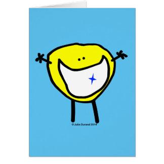 """""""Fudsy enfrenta"""" - o universal Cartão-Seu grande Cartão Comemorativo"""