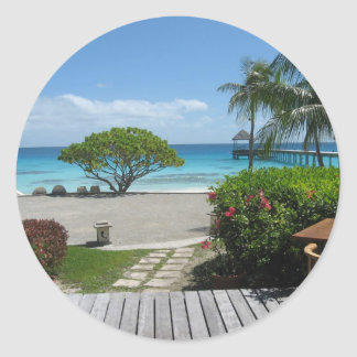 Fuga de Tahiti Adesivo