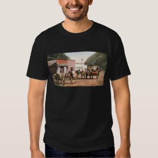 Fuga do bloco de Colorado pronta para os mineiros T-shirts