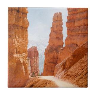 Fuga do parque nacional da garganta de Bryce