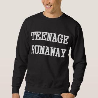 Fugitivo adolescente suéter