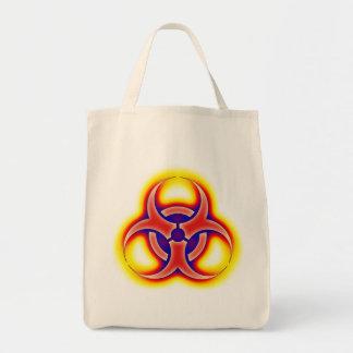 Fulgor do Biohazard Bolsa Tote