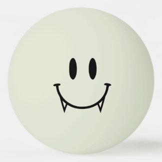 Fulgor na bola escura de Pong do sibilo do smiley