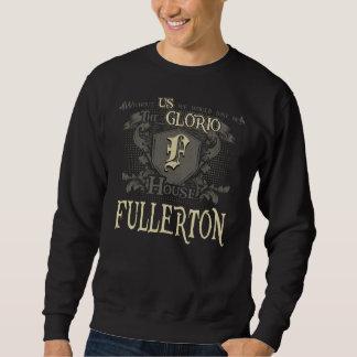 FULLERTON da casa. Camisa do presente para o