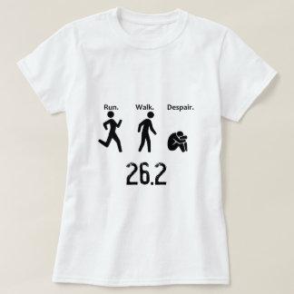 Funcionamento. Caminhada. Desespero Camiseta