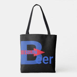 Funcionamento da cerveja bolsa tote