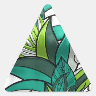 Funcionamento da selva adesivo triangular