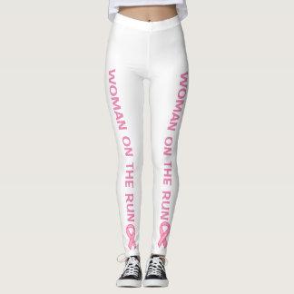 Funcionamento do cancro da mama do apoio leggings