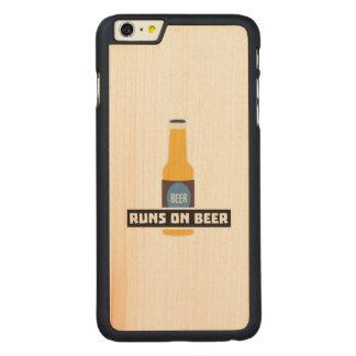 Funcionamentos na cerveja Z7ta2 Capa Para iPhone 6 Plus De Bordo, Carved