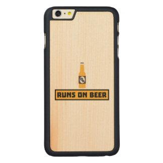 Funcionamentos na cerveja Zmk10 Capa Para iPhone 6 Plus De Bordo, Carved