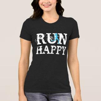 FUNCIONE a camisa running engraçada FELIZ