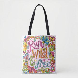Funcione a sacola selvagem & livre/saco para o bolsa tote