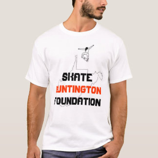 Fundação de Huntington do skate Camiseta