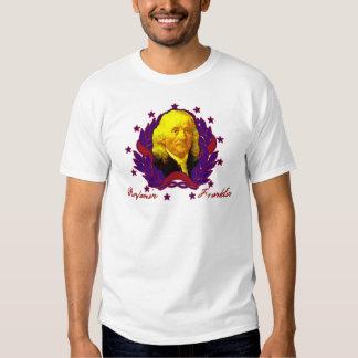 Fundador Benjamin Franklin a personalizar T-shirt