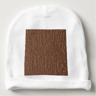 Fundo abstrato de Brown Gorro Para Bebê