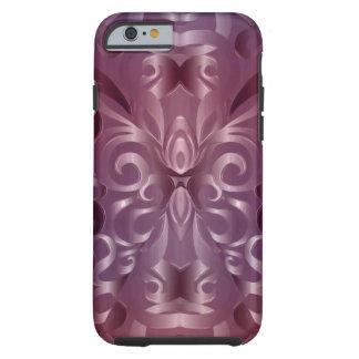 fundo abstrato floral de Shell do caso do iPhone 6 Capa Tough Para iPhone 6
