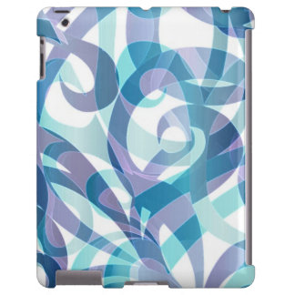 fundo abstrato floral do iPad mal lá Capa Para iPad