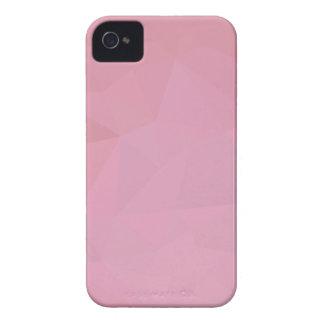 Fundo abstrato rosado do polígono de Brown baixo Capinha iPhone 4